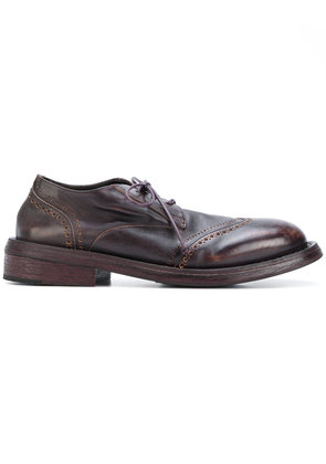 Marsèll worn out effect brogues - Brown