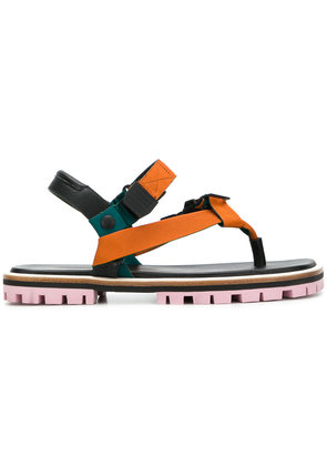 Paul Smith strappy buckled sandals - Black