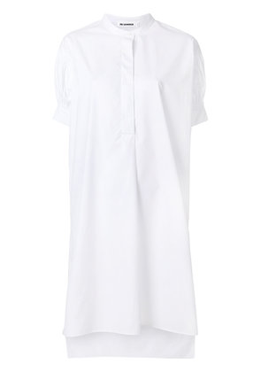 Jil Sander hi-low shirt dress - White