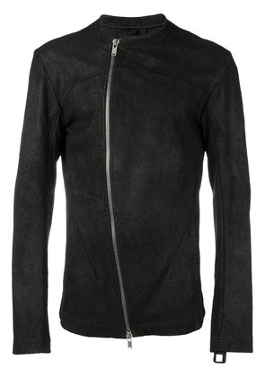 10Sei0otto structured zip jacket - Black