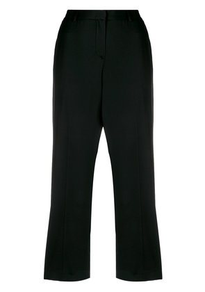 Tonello cropped trousers - Black