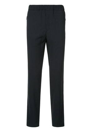Stella McCartney cropped tapered track pants - Blue