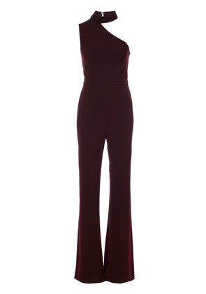 Rachel Zoe asymmetric jumpsuit - Pink & Purple