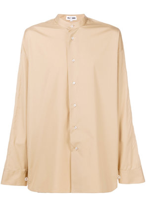 Jil Sander piped trim shirt - Nude & Neutrals