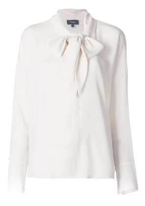Theory neck tie blouse - Nude & Neutrals