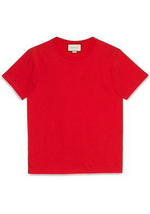 Gucci Gucci stamp cotton T-shirt - Red