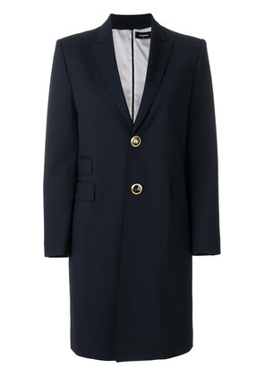 Dsquared2 tailored stretch coat and dress set - Blue