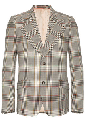 Gucci Heritage Retro Check Jacket - Grey