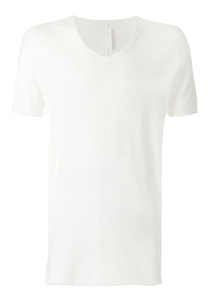 10Sei0otto V-neck T-shirt - White