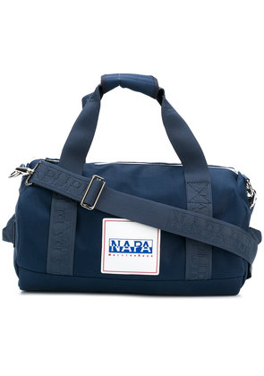 Napa By Martine Rose logo patch holdall - Blue
