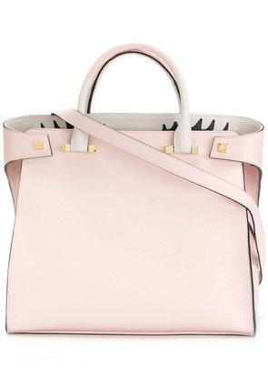 Tote Bag On Sale, Reversible, Rose, Leather, 2017, one size Giancarlo Petriglia
