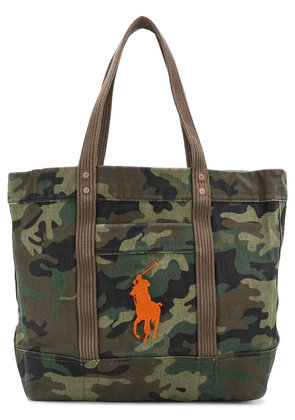 Polo Ralph Lauren camouflage tote bag - Green