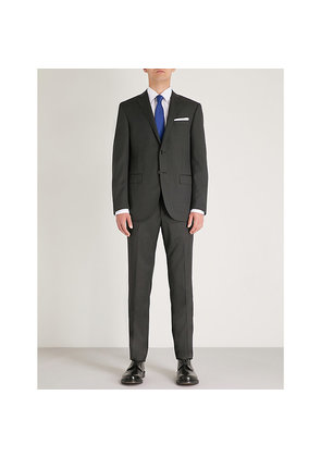 Nailhead-patterned academy-fit wool suit