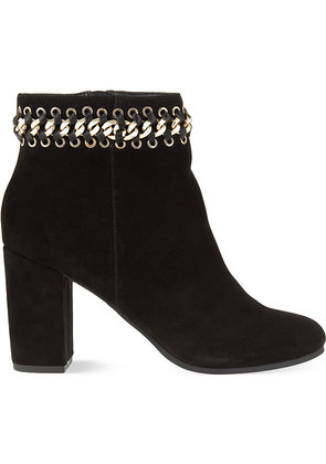 Sphynx suede ankle boots