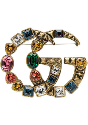 Gucci Gold Marmont Brooch