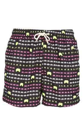 SPACE GAME MICRO FIBER SWIM SHORTS