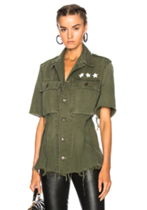 ICONS Dutch Field Top in Green