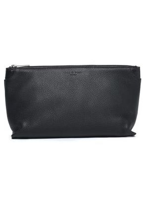 Rag & Bone Woman Smooth And Textured-leather Cosmetics Case Black Size -