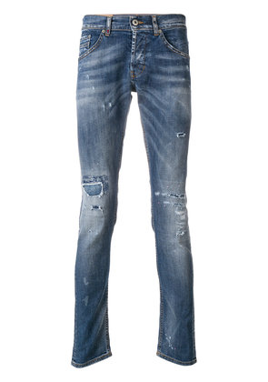 Dondup slim-fit distressed jeans - Blue