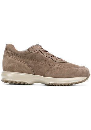 Hogan lace-up sneakers - Brown