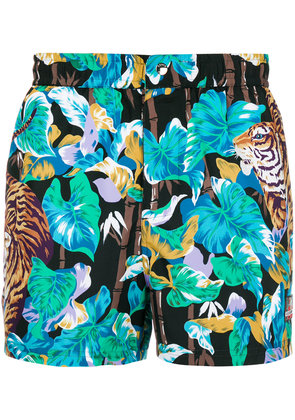 Kenzo Bamboo Tiger swim shorts - Multicolour