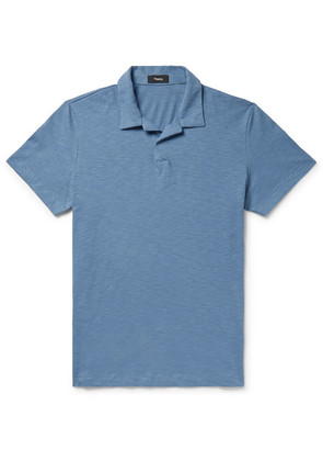 Willem Slub Cotton-jersey Polo Shirt