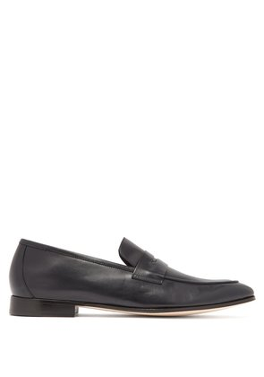 Glynn leather penny loafers
