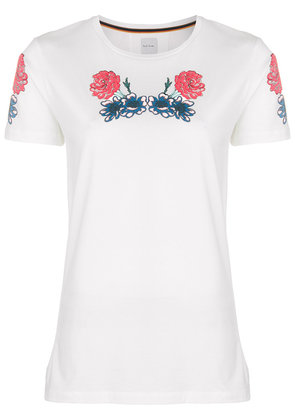 Paul Smith embroidered T-shirt - White