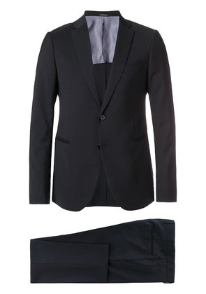 Emporio Armani slim fit two piece suit - Blue