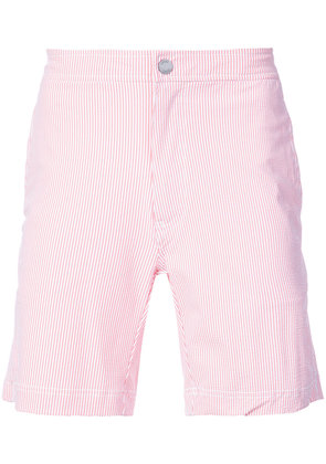 Onia Calder 7.5' striped swim trunks - Pink & Purple