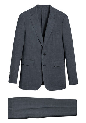 Burberry Soho Fit Three-piece Linen Wool Suit - Blue