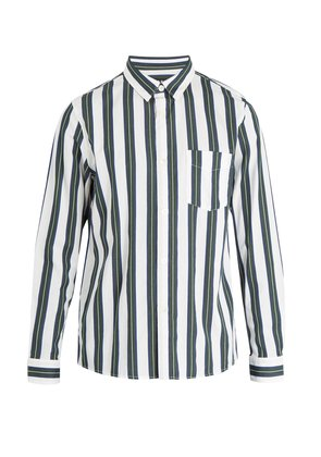 Alexis striped cotton shirt