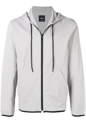 Theory zipped windbreaker - Grey