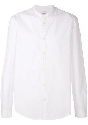 Dondup band collar shirt - White