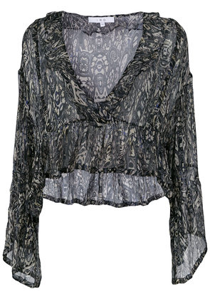 Iro loose patterned blouse - Multicolour