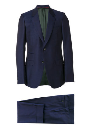 Gucci Monaco fine dots suit - Blue