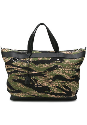 Golden Goose Deluxe Brand camouflage print holdall bag - Green