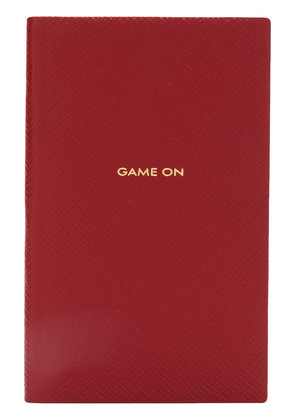 Smythson Game On notepad - Red