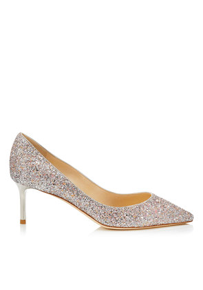 ROMY 60 Viola Mix Speckled Glitter Pointy Toe Pumps