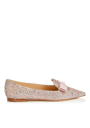 GALA Viola Mix Speckled Glitter Pointy Toe Flats