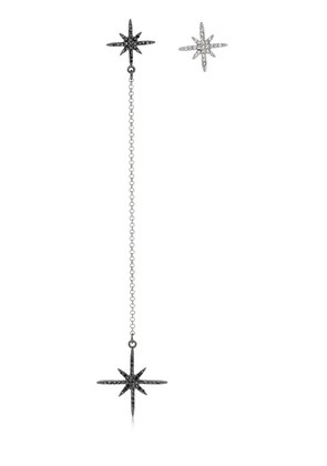 LONG STAR ASYMMETRICAL EARRINGS