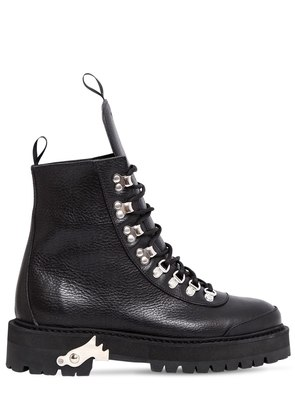 40MM HIKING LEATHER BOOTS