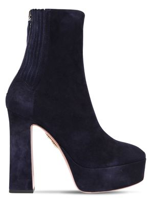 125MM SAINT HONORÉ SUEDE ANKLE BOOTS