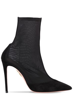 105MM HOT STUFF MESH ANKLE BOOTS
