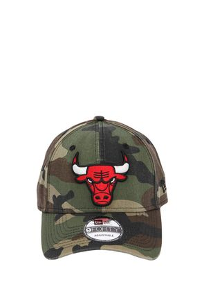 9FORTY CAMOUFLAGE BULLS NBA PATCH HAT