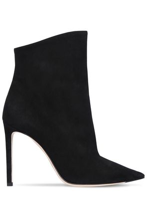 100MM HELAINE SUEDE ANKLE BOOTS