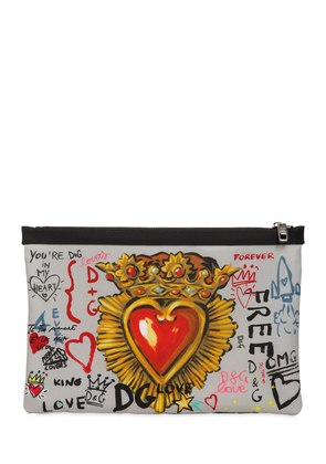 MURALES PRINTED NYLON POUCH