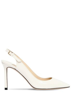 85MM ERIN PATENT LEATHER PUMPS
