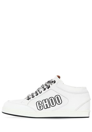 20MM I WANT CHOO LEATHER SNEAKERS
