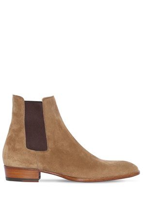 30MM CHELSEA SUEDE BOOT
